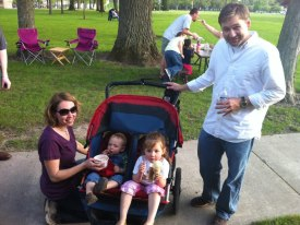 We were able to have an impromtu food truck meet up at Erb Park last summer ~ great chance to get to know some new folks!