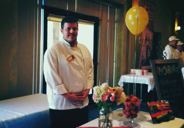 Some of you met Chef Adam at the Tail Gate Event for the Fox Valley Humane Association,