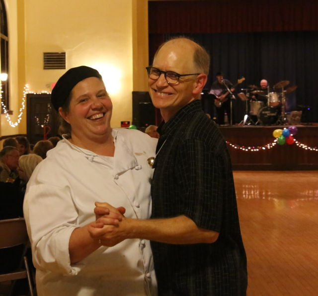 We recently able to cater a retirement party for a friend and CSR Member Rick. He made me promise to dance with him, which I did and enjoyed every minute of it!