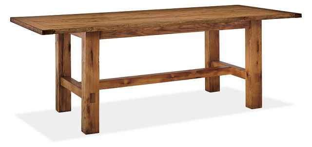 We look forward to two of these tables down the middle of the dining room to form a 14 foot community table.