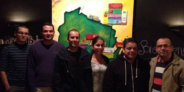 We recently hosted a group of folks from Kimberly Clark. These guests were here from Costa Rica!